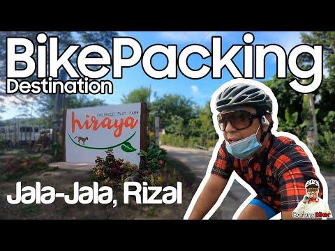 BikePacking & Glamping at Hiraya Childhood Play Farm Jala-Jala, Rizal. Barong Biker BarongBiker