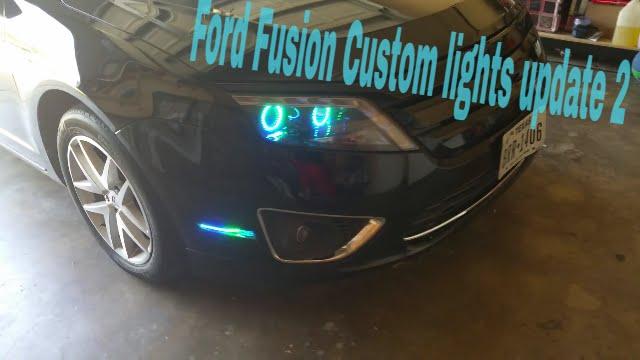 Ford Fusion Custom Lights Update 2