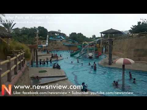 Water Park at Tirupati Rushivan   Picnic at Water Park in Tirupati Rushivan Park