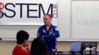NASA Astronaut Michael Fincke Visits IVC (Part 2)