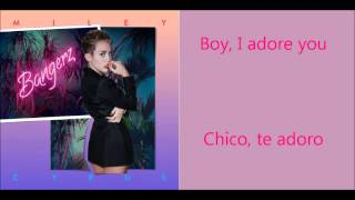 Miley Cyrus- Adore you lyrics (Subtitulado español)