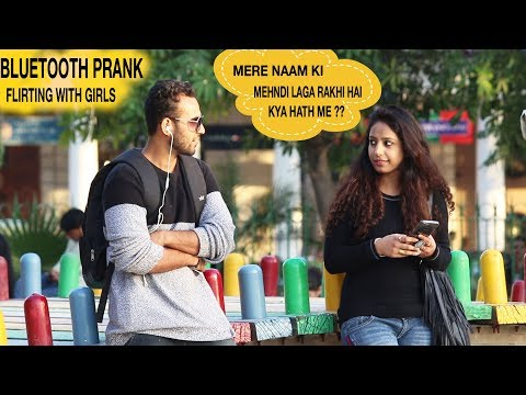 Bluetooth Prank - Flirting with Cute Girls | ANBTEAM
