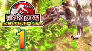 SPINOSAURUS ALREADY?!?! Jurassic Park - Island Attack (GBA) [ Jurassic Park Month ]