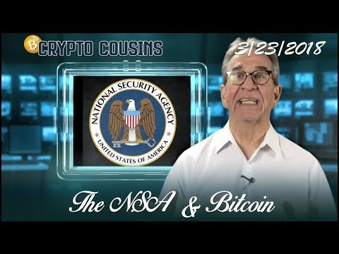 4 Minute Crypto |The NSA Was Spying On Bitcoin Users | 3/23/2018
