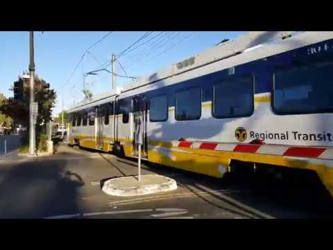 Riding Sacramento Light Rail