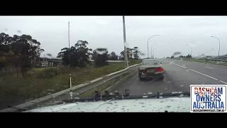 P plater loses control in the wet - N.S.W