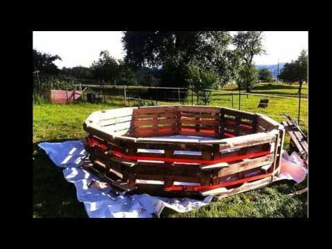 Бассейн-теплица на дачном участке