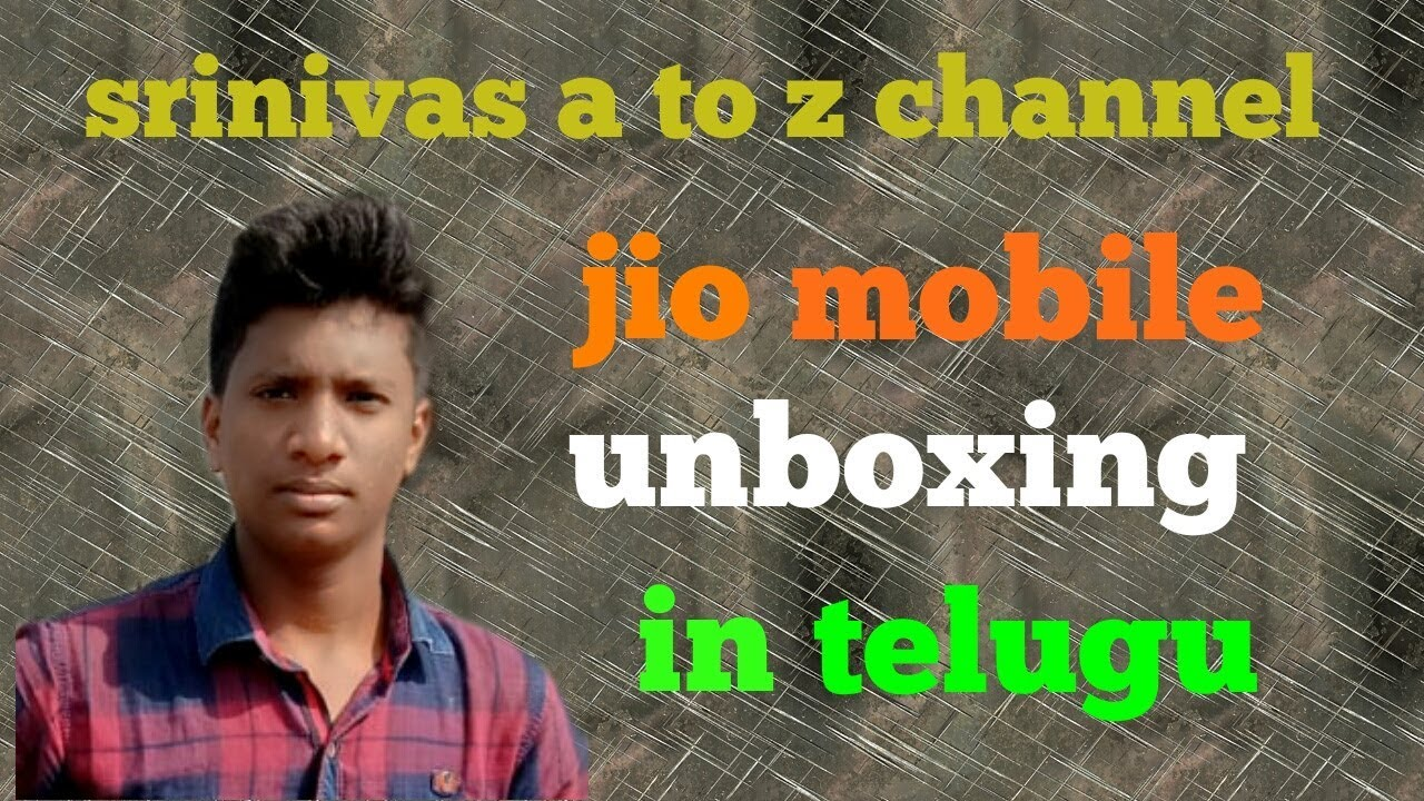 jio mobile unboxing in telugu