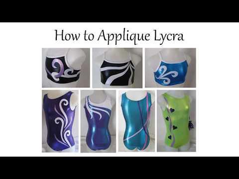 How to Applique Stretch Fabrics Tutorial