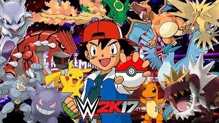 pokemon royal rumble wwe 2k17