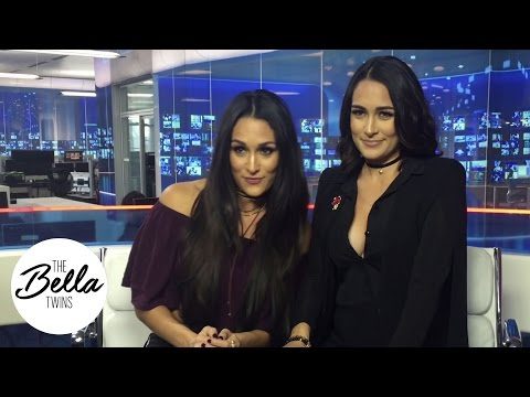 The Bella Twins vs. The Kardashians: Nikki breaks it down behind the scenes on a media tour