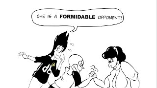 Vocabulary definition and Quiz: Formidable (Adjective)   dabblr