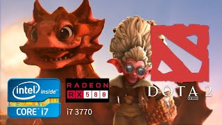 DOTA 2 Patch 7.22 | i7 3770 | RX 580 | 8 GB RAM Gameplay Full HD