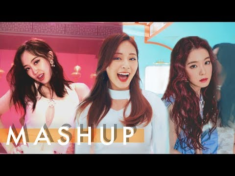 TWICE x RED VELVET x SISTAR – Heart Shaker /Rookie /I Like That  MASHUP