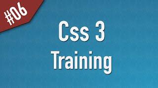 Learn Css3 in Arabic #06 - Examples: Box Shadow, Border Radius