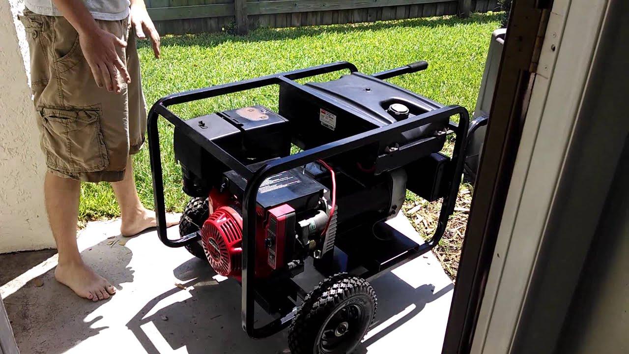 Dayton 7000 Watt Generator With Honda 13HP Engine