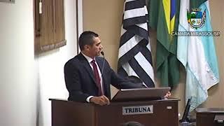 20ª Sessão Ordinária - Vereador Sérgio Leiteiro