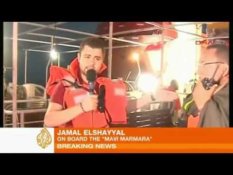 Israel Attacks Gaza Aid Fleet - Middle East - Al Jazeera English.flv