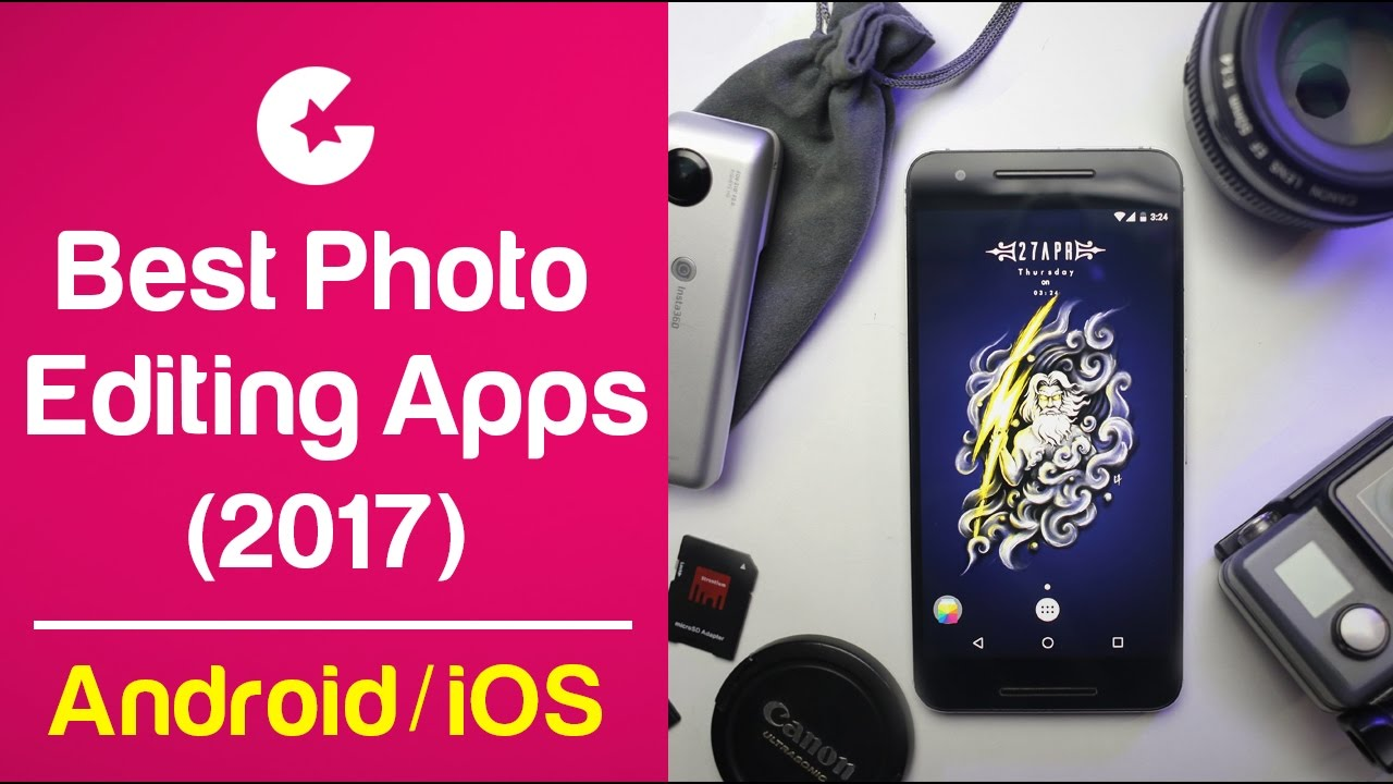 Top 5 Best Photo Editing Apps for Android & iOS/iPhone - Must Try!! (2017)