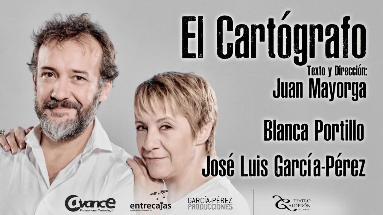 """Resultado de imagen de """"EL CARTÓGRAFO"""" con BLANCA PORTILLO y JOSÉ LUIS GARCÍA- PËREZ"""
