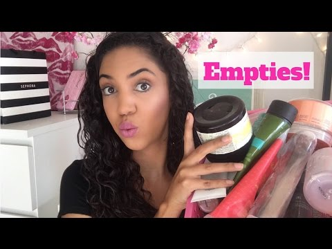 Product Empties: Reviews on Makeup, Skincare, and Bath Products!