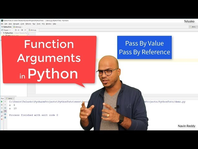 #33 Python Tutorial for Beginners | Function Arguments in Python