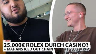 "Justin reagiert auf ""Mahans 2000€ ICED OUT Kette 🥶💎"" 