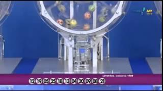Resultado da Lotofácil concurso 1189 dia 30/03/2015 (Momento da Sorte - RedeTV)