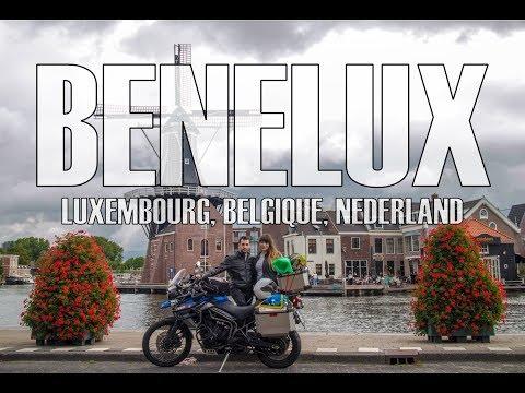 Moto Travel in Benelux (Luxembourg, Belgique, Nederland), August 2018