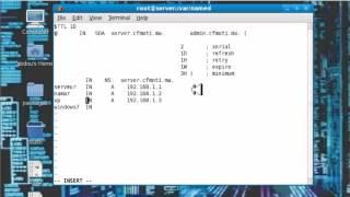 Installation et configuration le serveur DNS sous linux ( Fedora 11 )