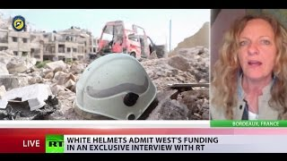 White Helmets' black record: 'Real Syrian civil defence groups describe them as terrorists