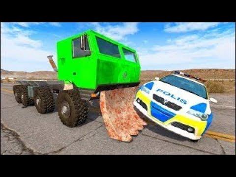 Мультики про машинки - Полицейская служба и Эвакуатор! Новое игровое видео с машинками.