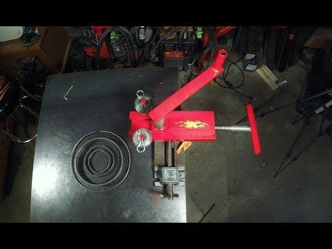 Homemade Metal Bender / Ring Roller