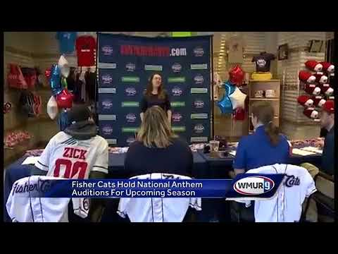 National Anthem Performers Audtion For Fisher Cats