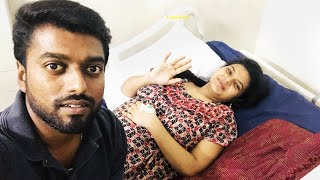 Admitting my wife in hospital for our New Baby !!