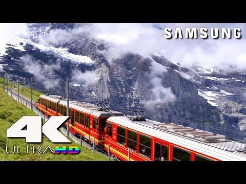 4K Ultra HD | SAMSUNG UHD Demo: Lovely Swiss (20Mbps Version)