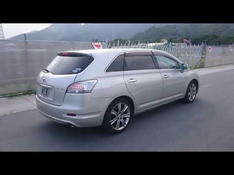 Видео-тест автомобиля Toyota Mark X Zio (серебро, GGA10-0003230, 2GR-FE, 2008г.)