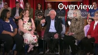 Overview: Bernie Sanders Addresses Major Issues at WV Town Hall (feat. commentary by Secular Talk)