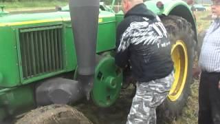 odpalanie traktora buldog