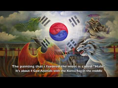 Korean modern and tradition art exhibition