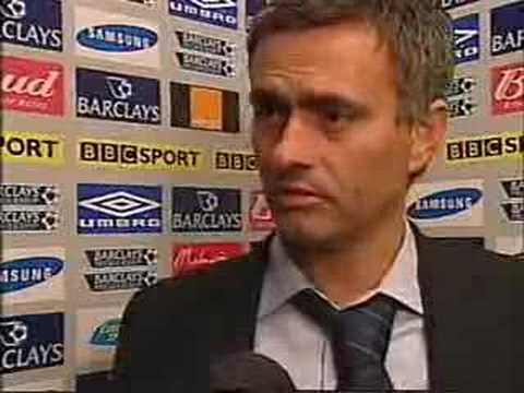 Jose Mourinho's English Dictionary Part 1