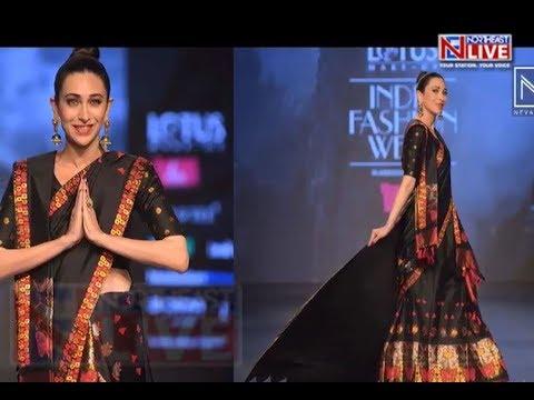 Karisma Kapoor flaunts 'Mekhela Chador' at LMIFW 2019 Mp3