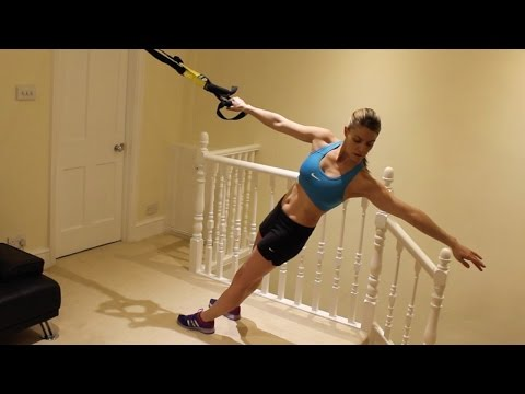 Exercise of the Week: TRX Rows (easy to hard variations)