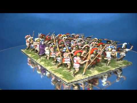 ancient greek phalanx in 172 scale youtube