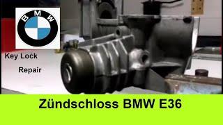 BMW E36 Zündschloss ausbauen