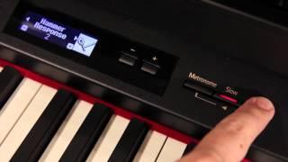 Roland Digital Piano — Stretch Tuning