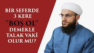 BİR SEFERDE 3 KERE