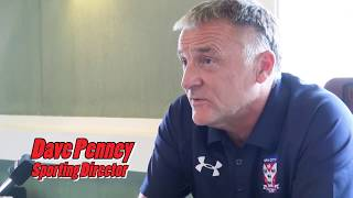 Dave Penney on club's 'tough' decision