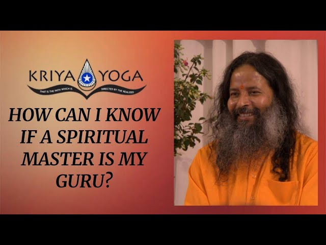 How Can I Know If a Spiritual Master Is My Guru?
