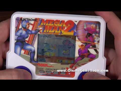 Classic Game Room - MEGA MAN 2 review for Tiger Electronics